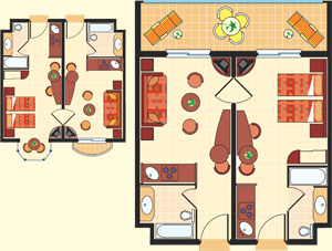 Map Junior Suite